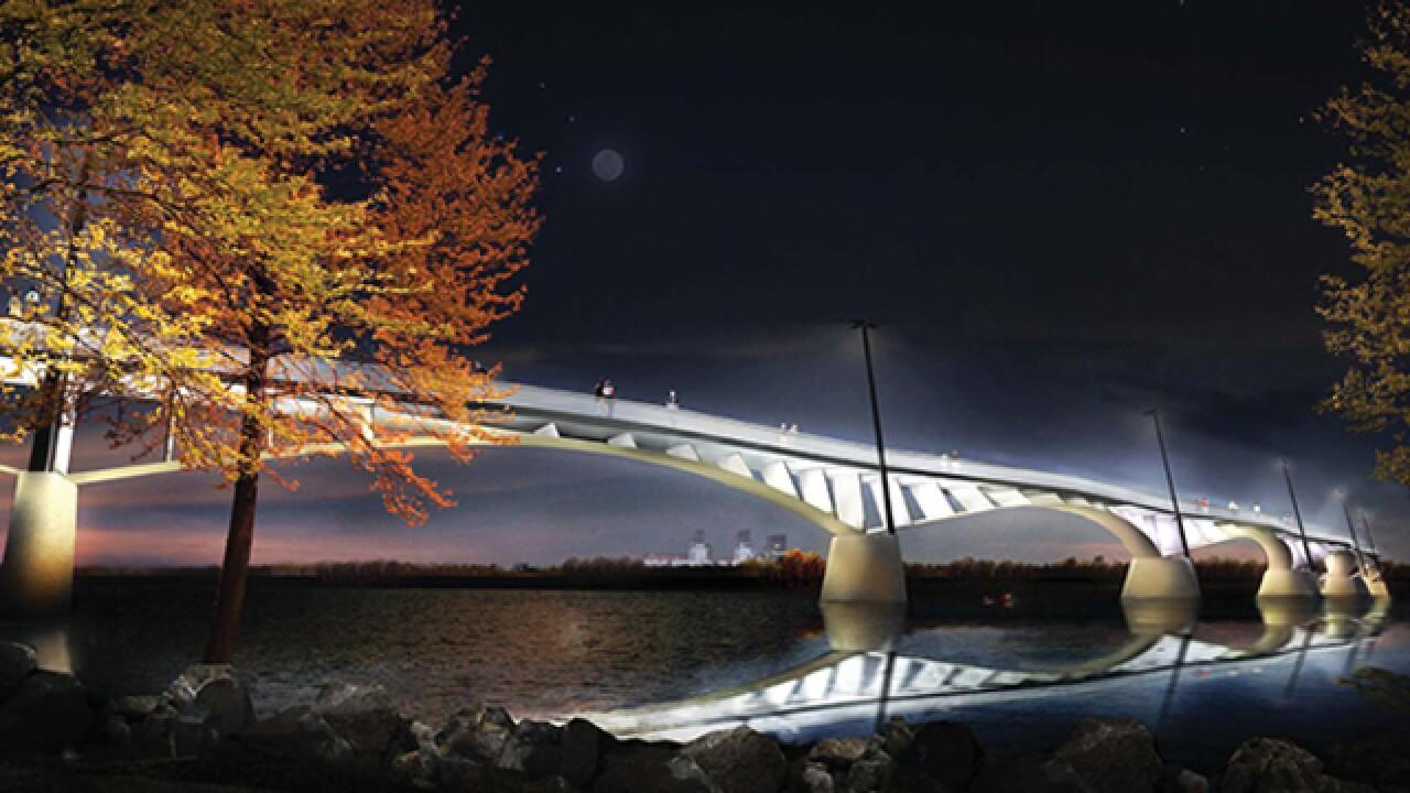 City of Tulsa unveils new pedestrian bridge