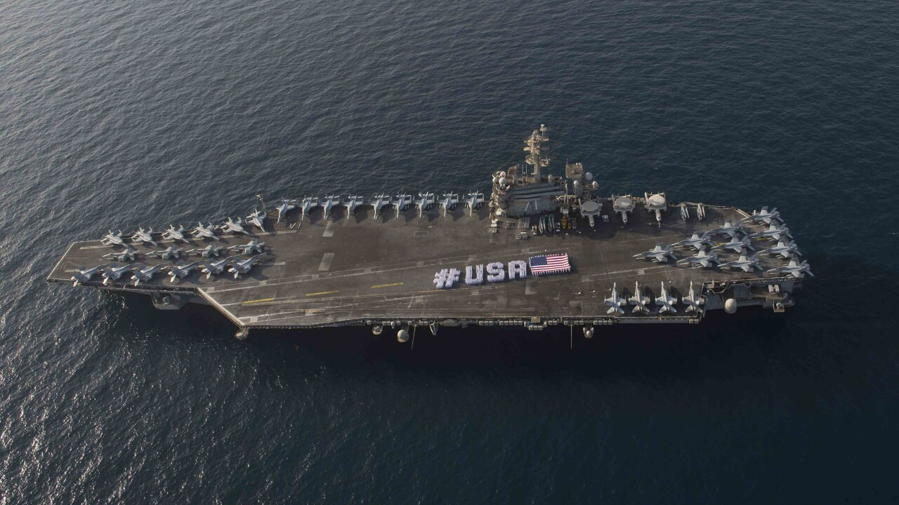 November is National U.S. Navy Aircraft Carrier Month