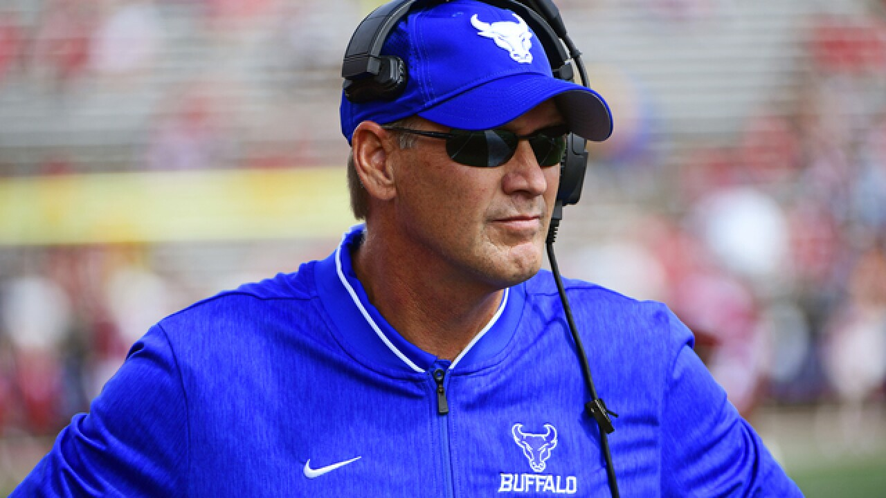 UB tops Central Michigan 34-24, one win away from bowl eligibility