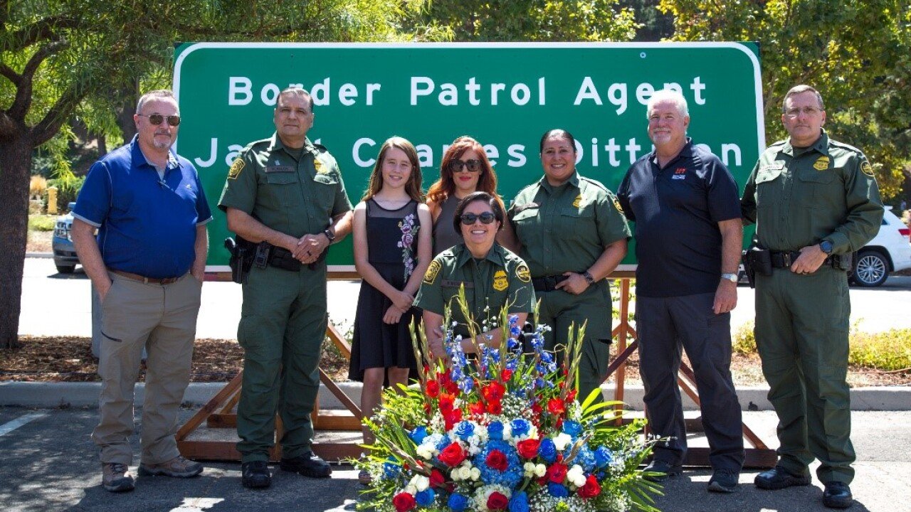 9-10-2019 Border patrol Celebrates Highway Sign Dedication for Fallen agent_photo 2.jpg