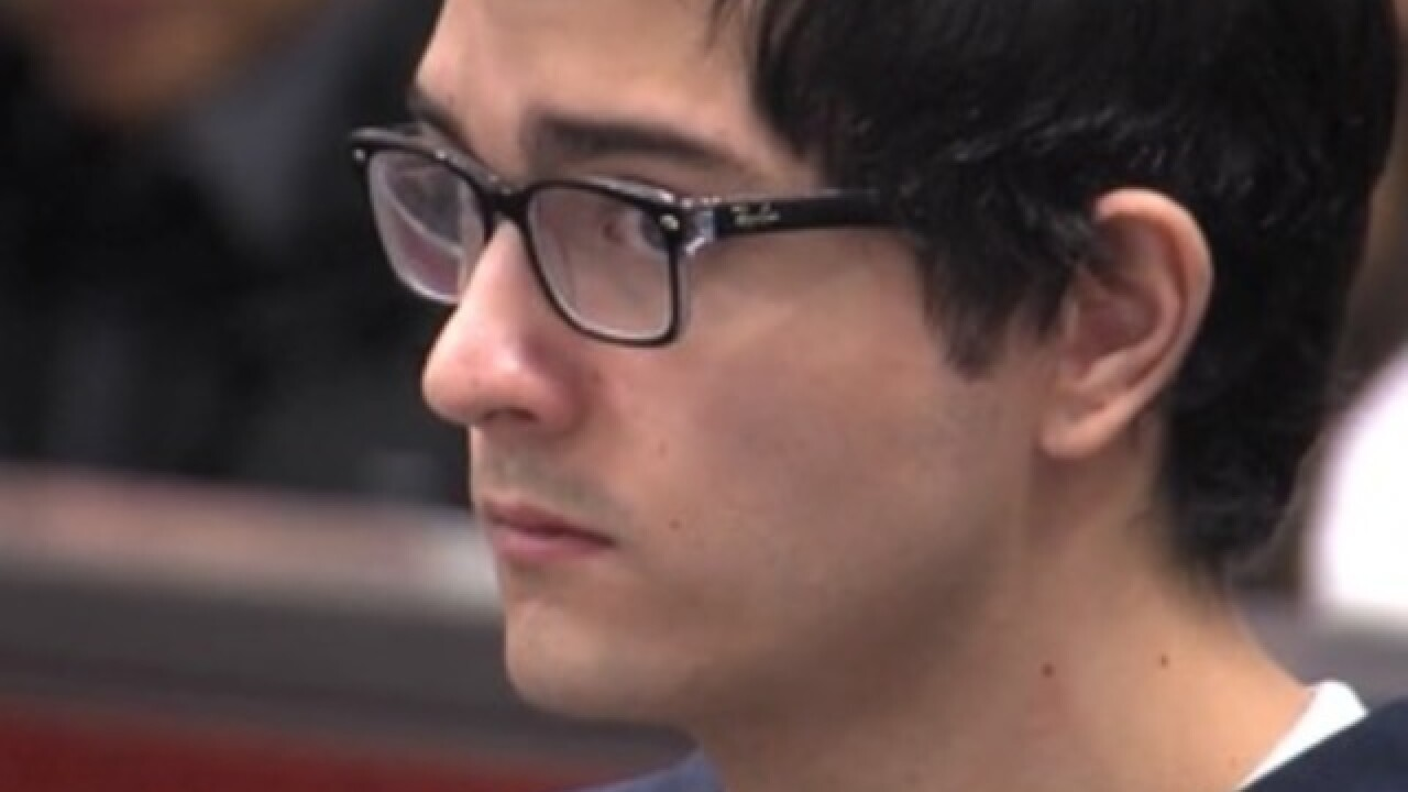 Ex-student charged in shooting to be retried
