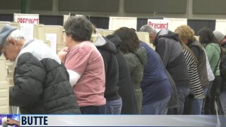 Butte reports no election day problems in counting votes
