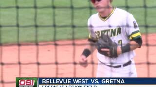 Bellevue West hangs on to beat Gretna in state Legion tournament