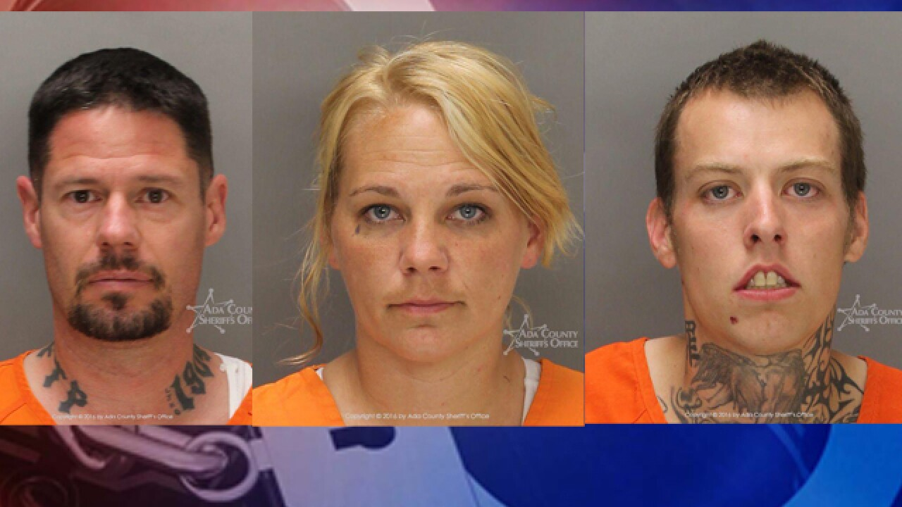 Detectives find drugs/stolen property with trio