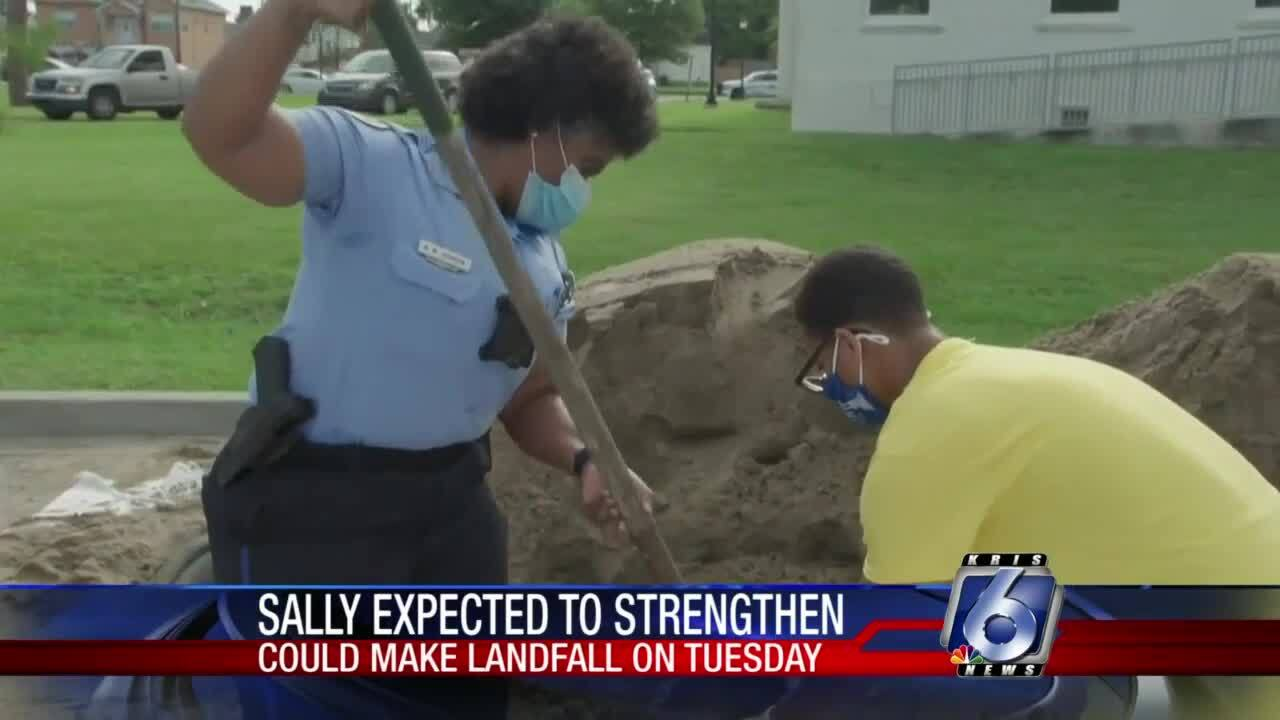 New Orleans braces as Tropical Storm Sally builds in Gulf