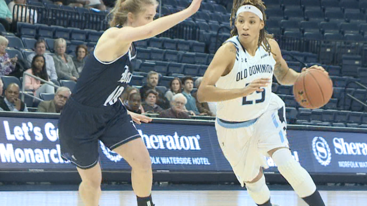 Simms joins 2,000 club in ODU's win vs. Marshall
