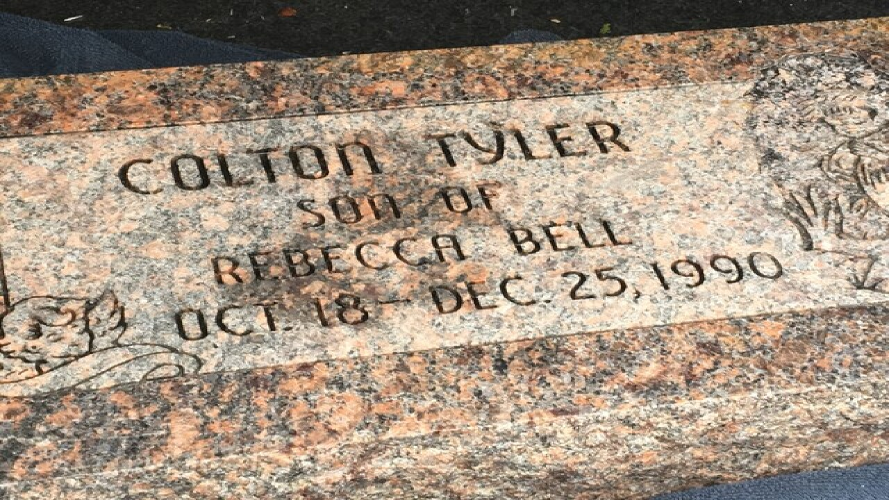 Lost headstone found, 25-year search ends