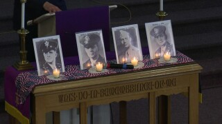 """Great Falls service pays tribute to the """"Four Chaplains"""" of WWII"""