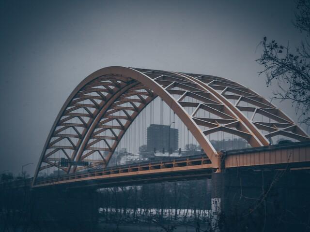 Cincygram: The Big Mac Bridge like you've never seen it before