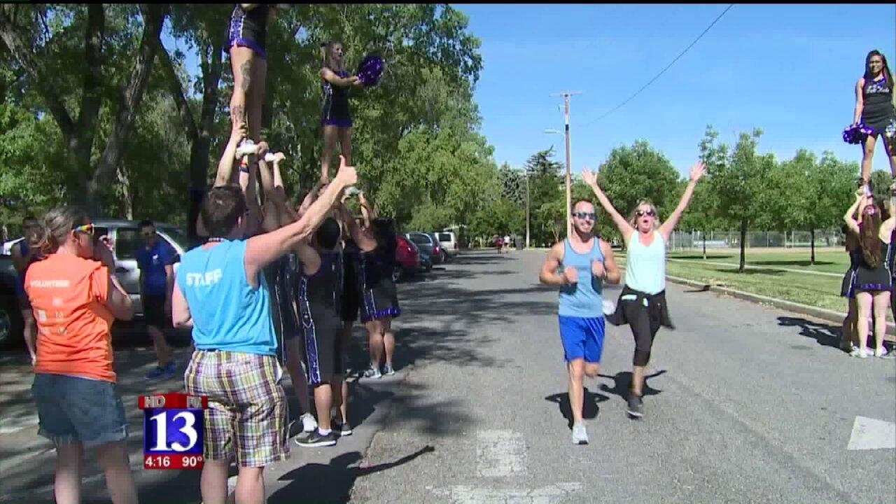'Outdoor and Proud 5K' celebrates LGBTQ community amid family-friendlyatmosphere