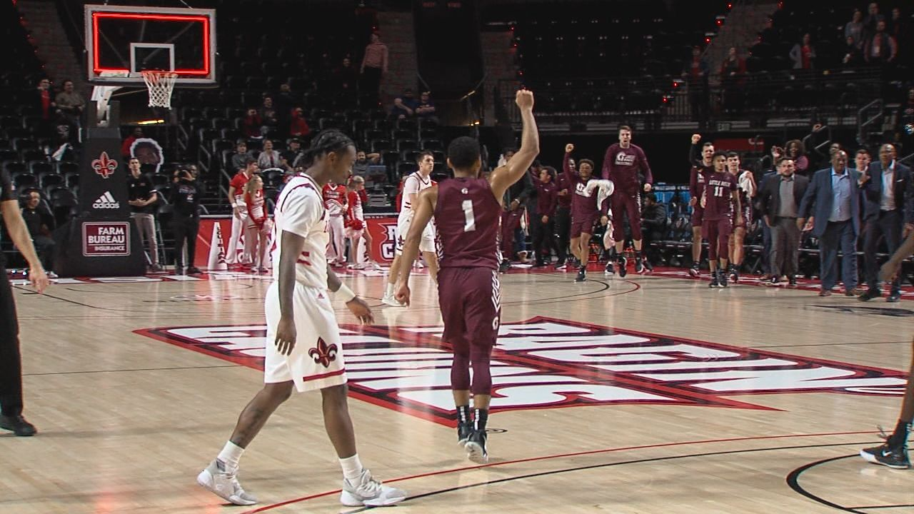 Ragin' Cajuns Go Cold Late In 69-66 Loss To Little Rock