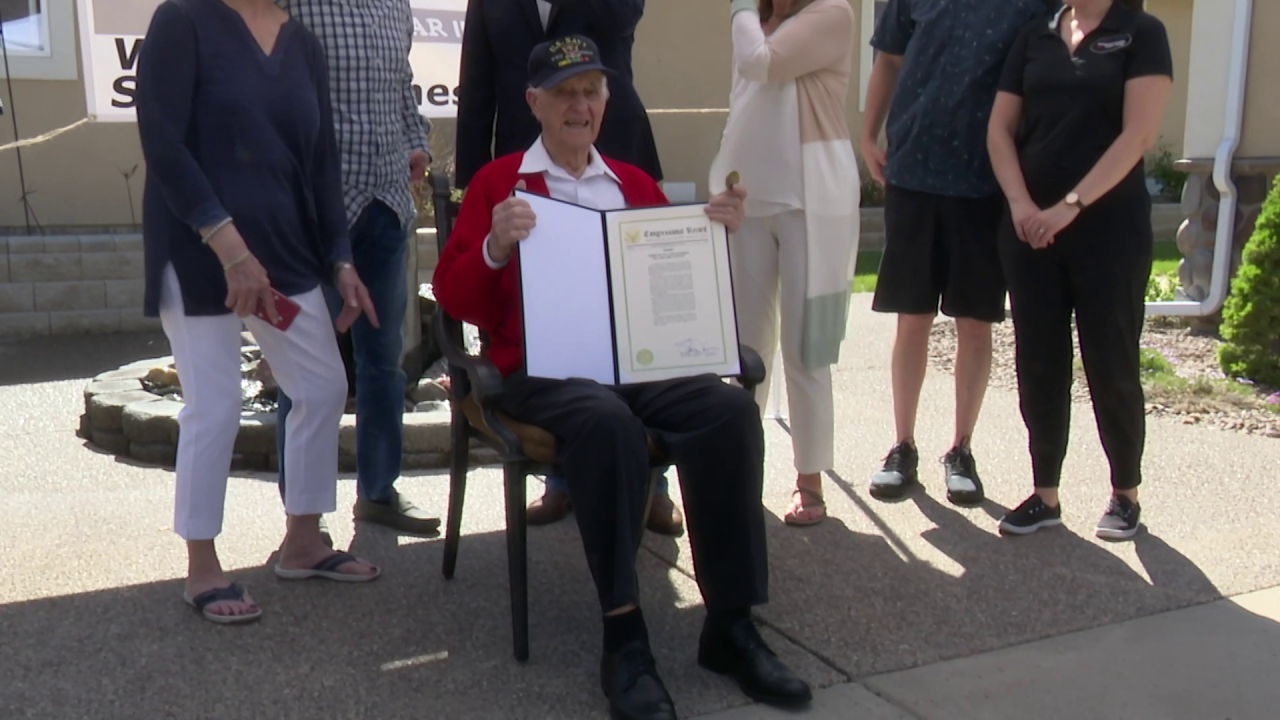 World War II veteran Ed Maierle