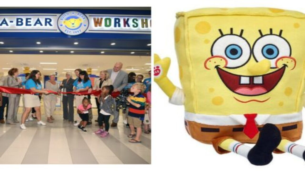 Build-A-Bear Just Launched A SpongeBob SquarePants Line