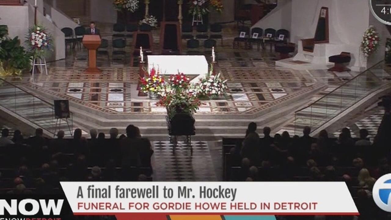 LIVE WEDNESDAY: Gordie Howe funeral