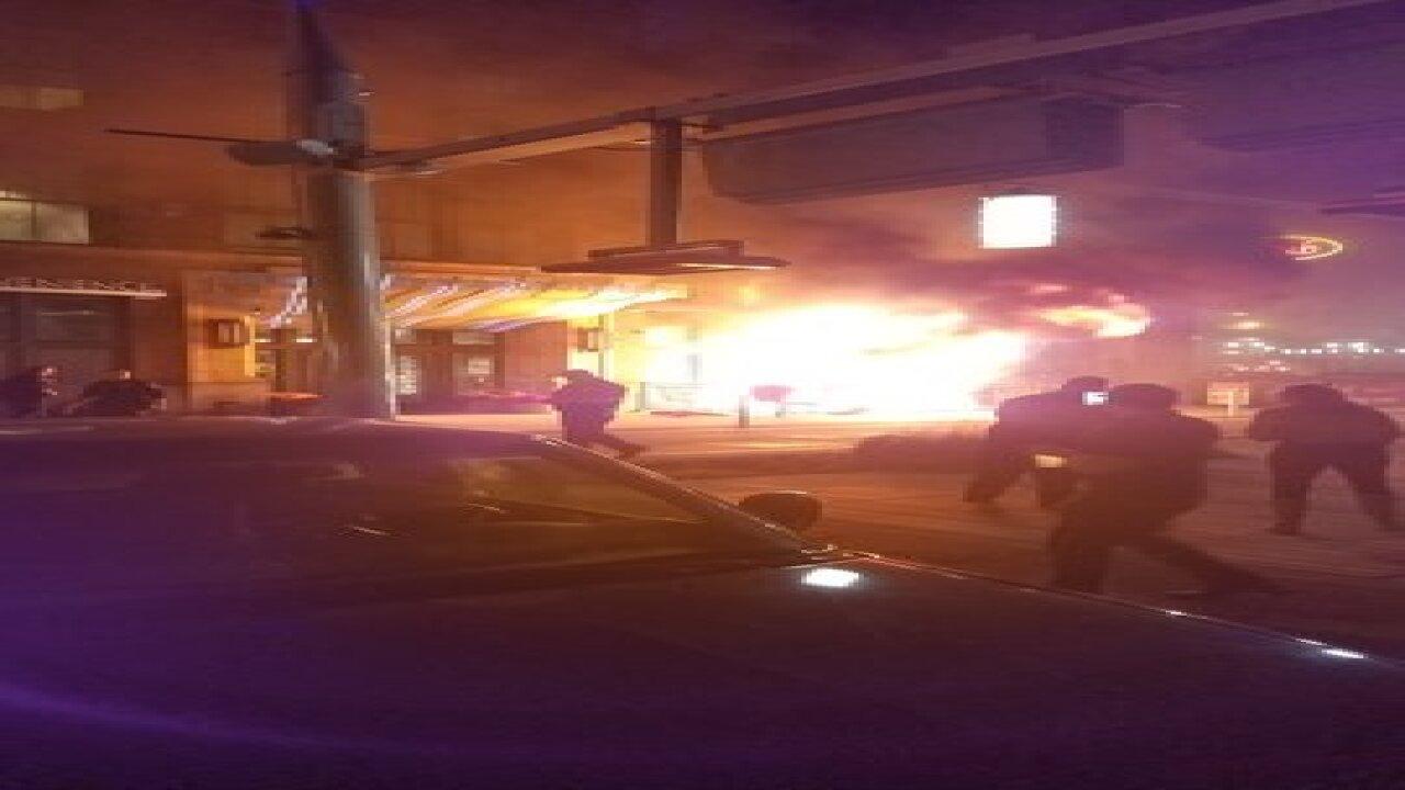 Fire damages Georgia St restaurant