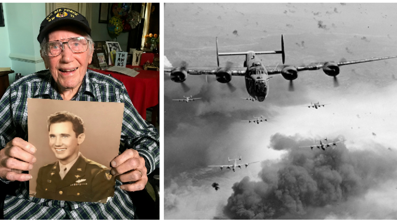 100-year-old Richmond veteran recounts surviving one of WWII's most daring missions