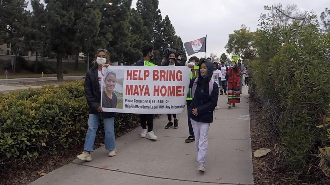 Maya Millete march