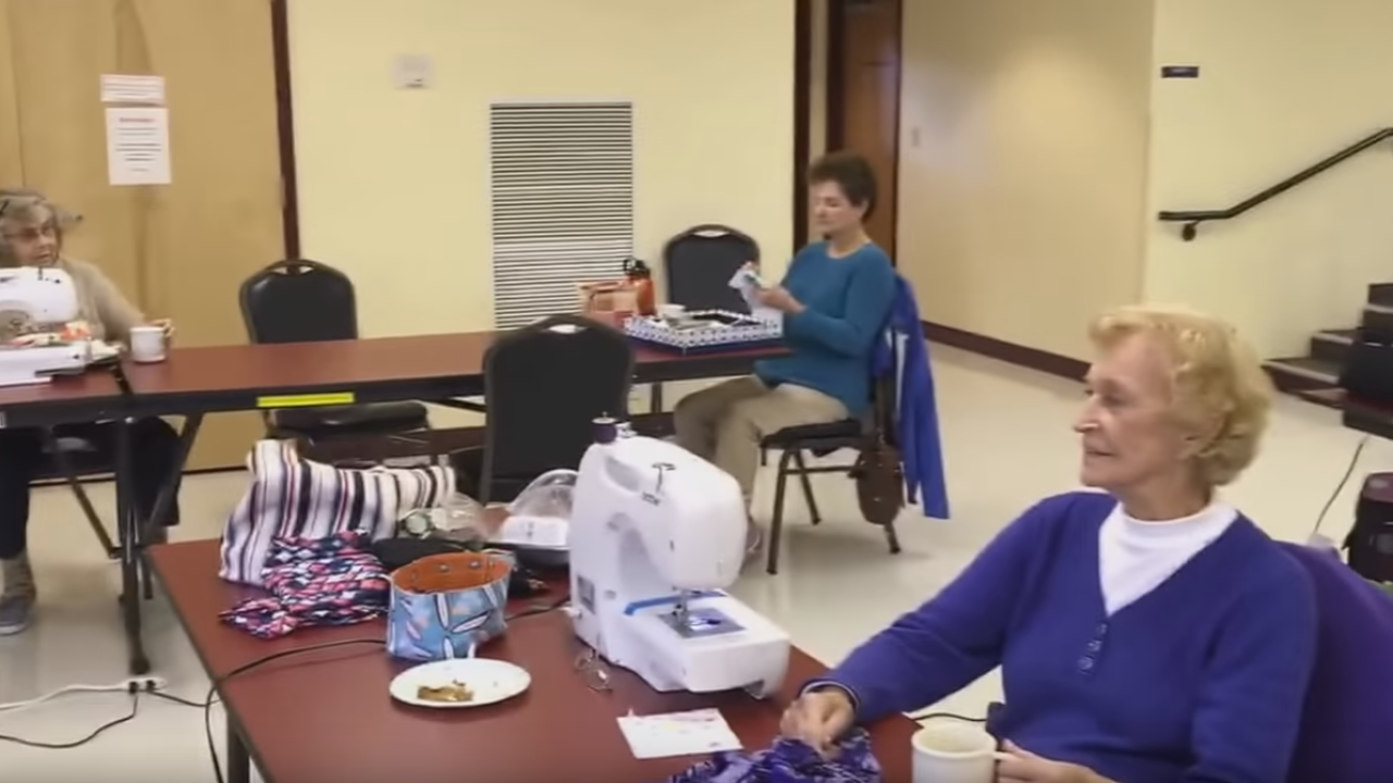 Senior center takes on Mannequin Challenge