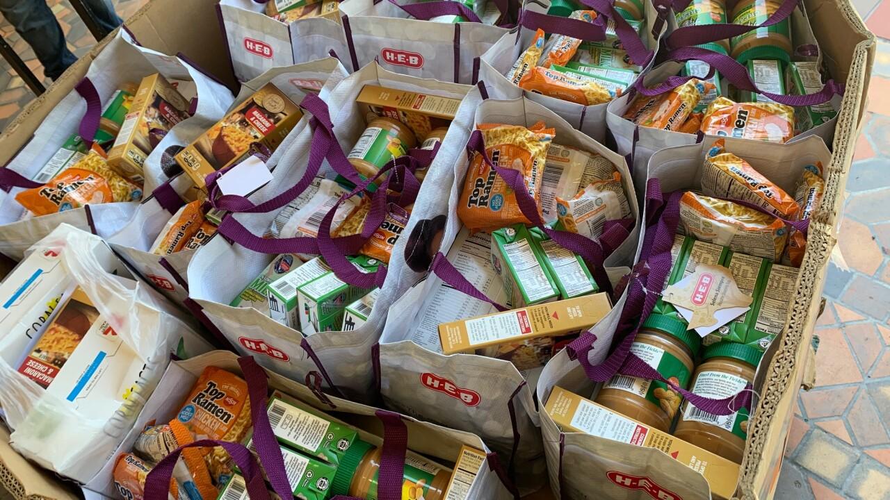 Coastal Bend Food Bank Backpack Program