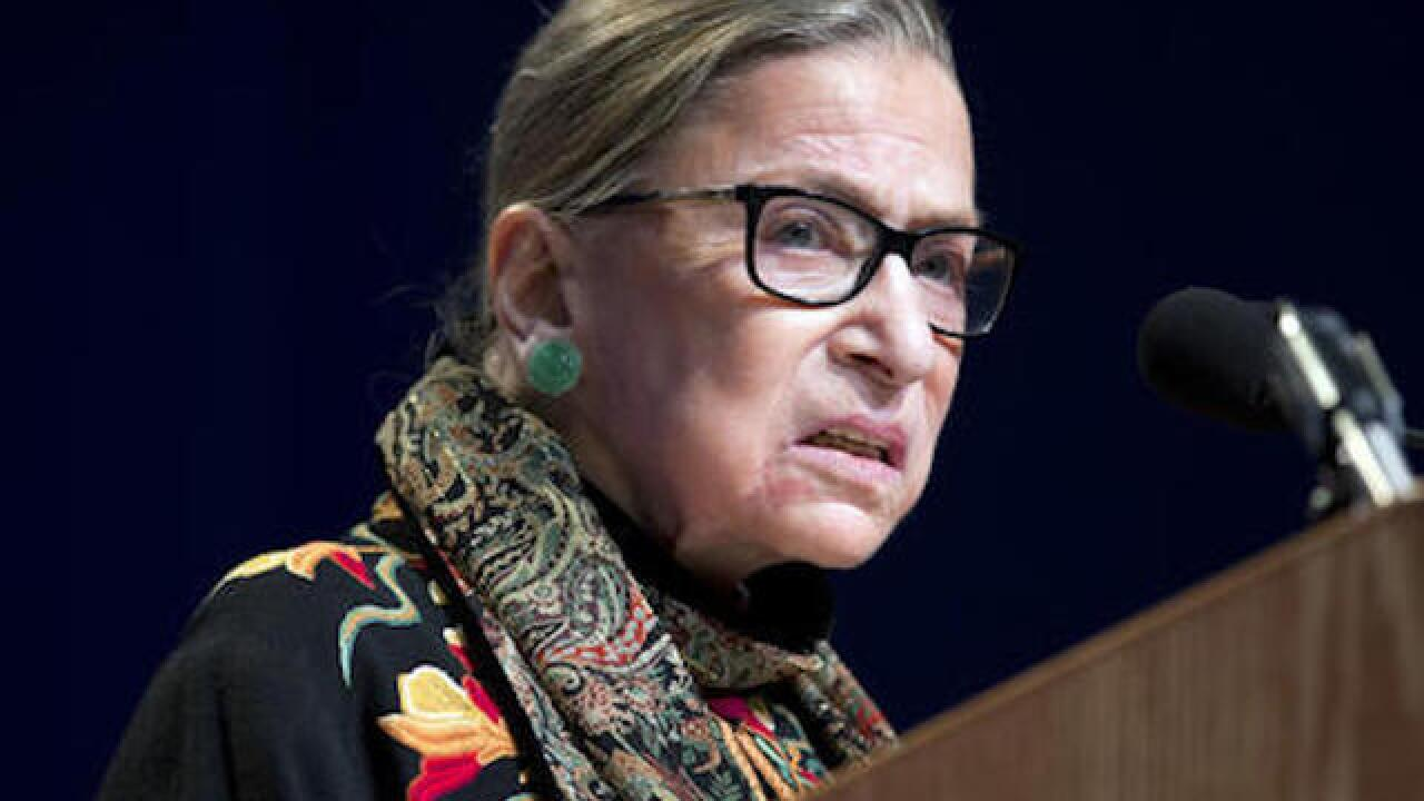 President Trump wishes Ruth Bader Ginsburg well, brings up her 2016 comments about him