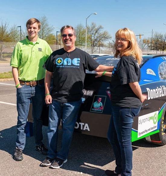 Photos: Norfolk Academy alum, organ donor to be honored on NASCAR driver'scar
