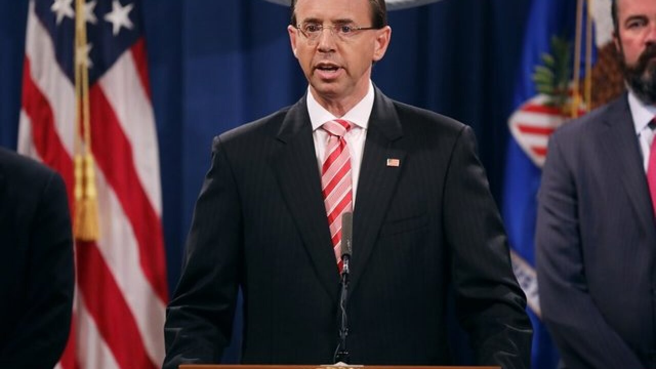 What happened between Rosenstein and McCabe before Mueller was appointed?