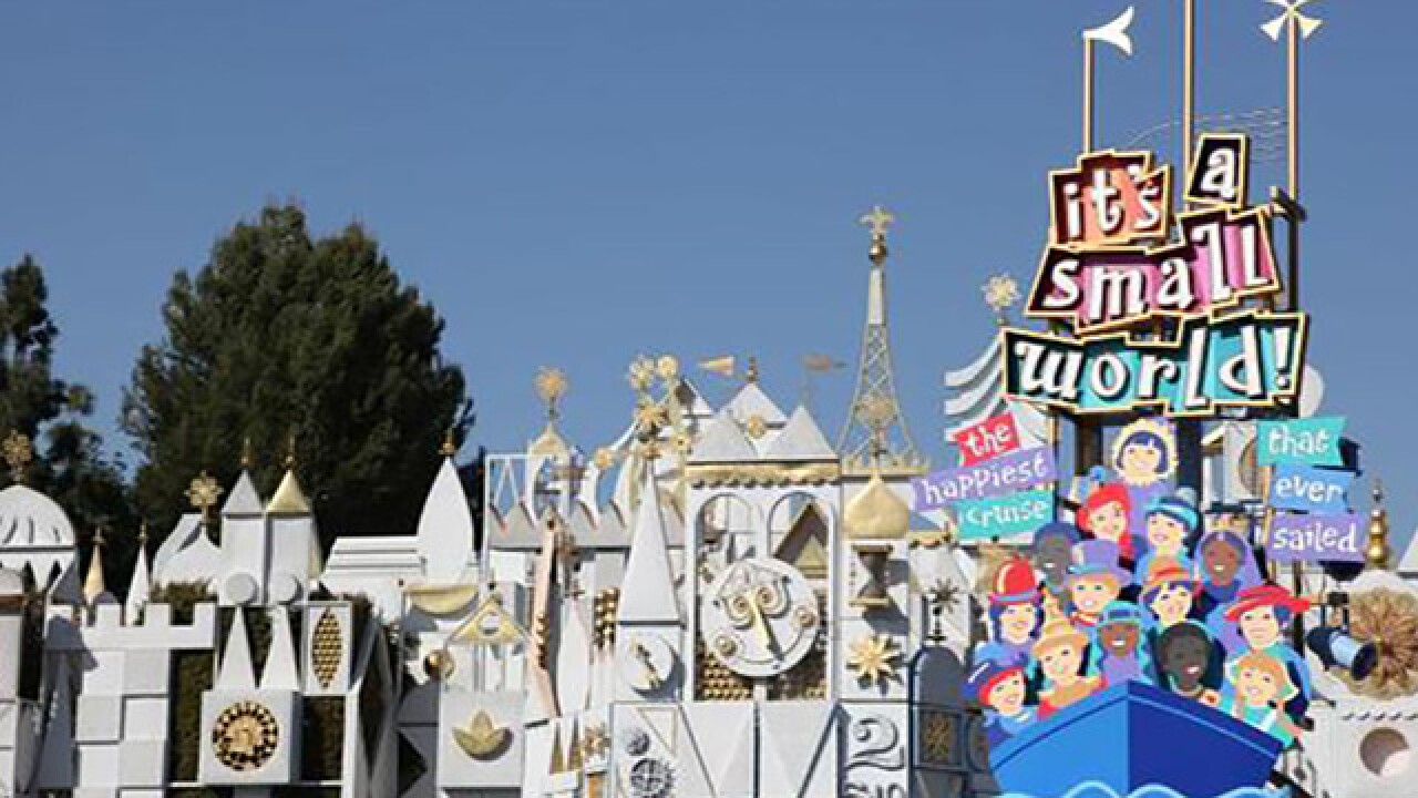 Worker rescued after mishap inside 'It's a Small World' attraction at Disneyland