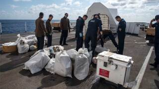 The U.S. Coast Guard on March 22, 2019, recorded their first marijuana interdiction while on patrol in the Caribbean Sea seizing nearly 2,000 pounds of contraband worth over $3.5 million.
