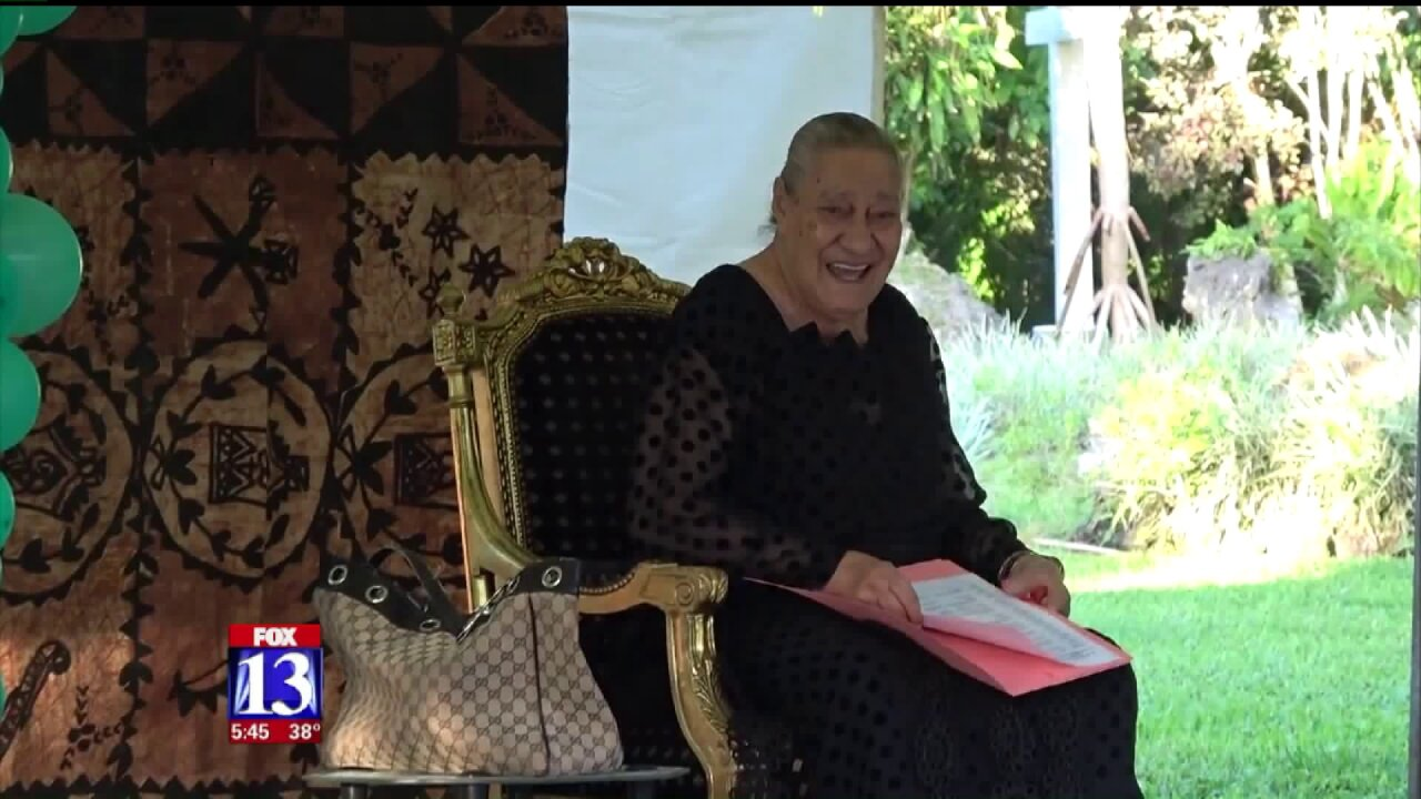 Passing of Tonga's Queen Mother felt among Utah's Tongan community