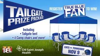 CHI Saint Joseph Health True Blue Fan Tailgate Contest