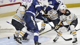 Sabres Lightning Hockey