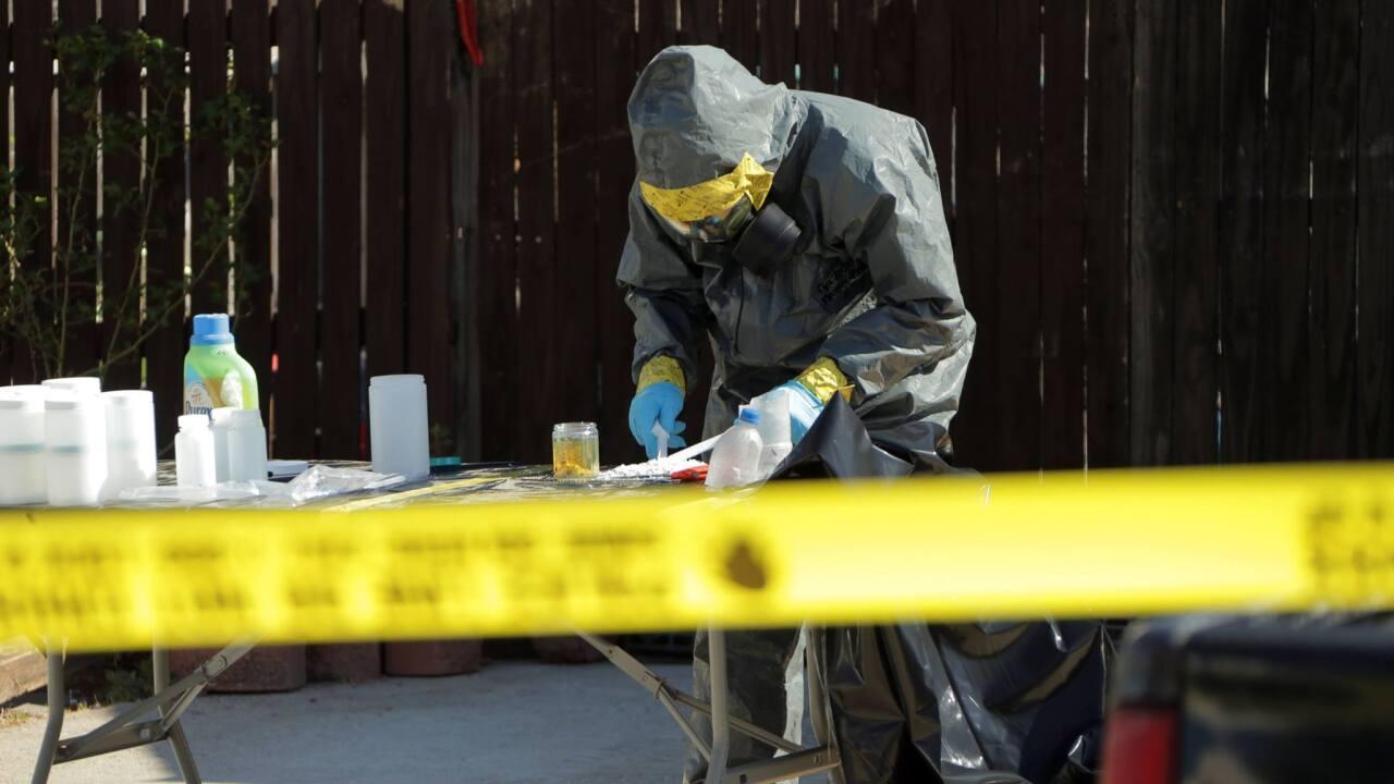 Virginia Beach Police find possible meth lab during burglarycall