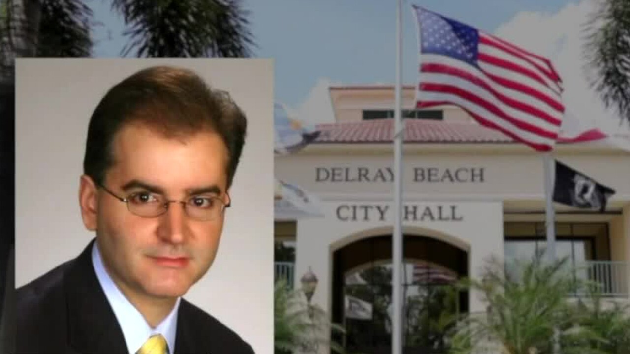 George Gretsas, Delray Beach City Hall