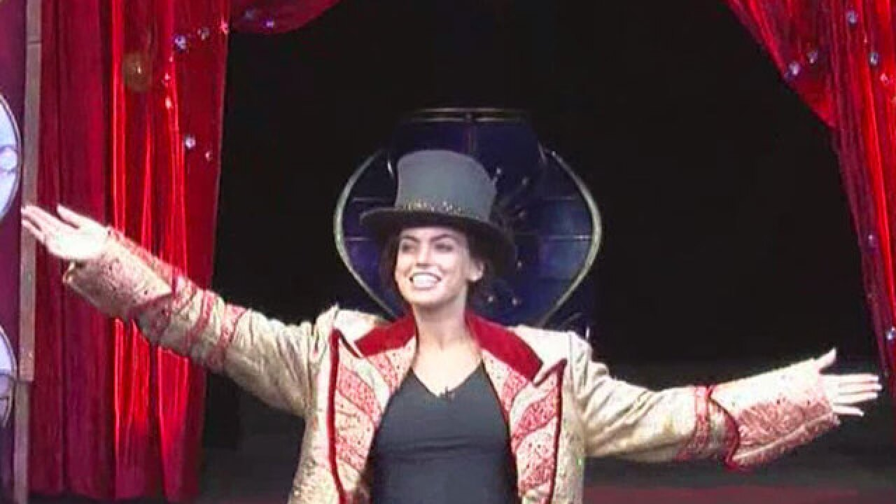 WATCH: Kacie McDonnell joins the circus!