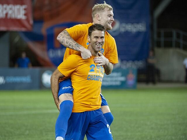 FC Cincinnati treats fans to victory, title celebration