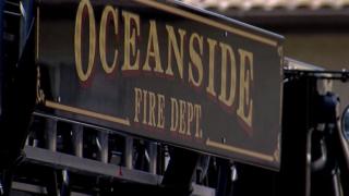 Fire damages Oceanside home