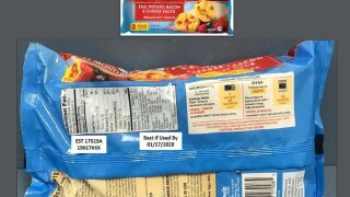 More than 246,000 pounds of breakfast wraps recalled because they may have small rocks
