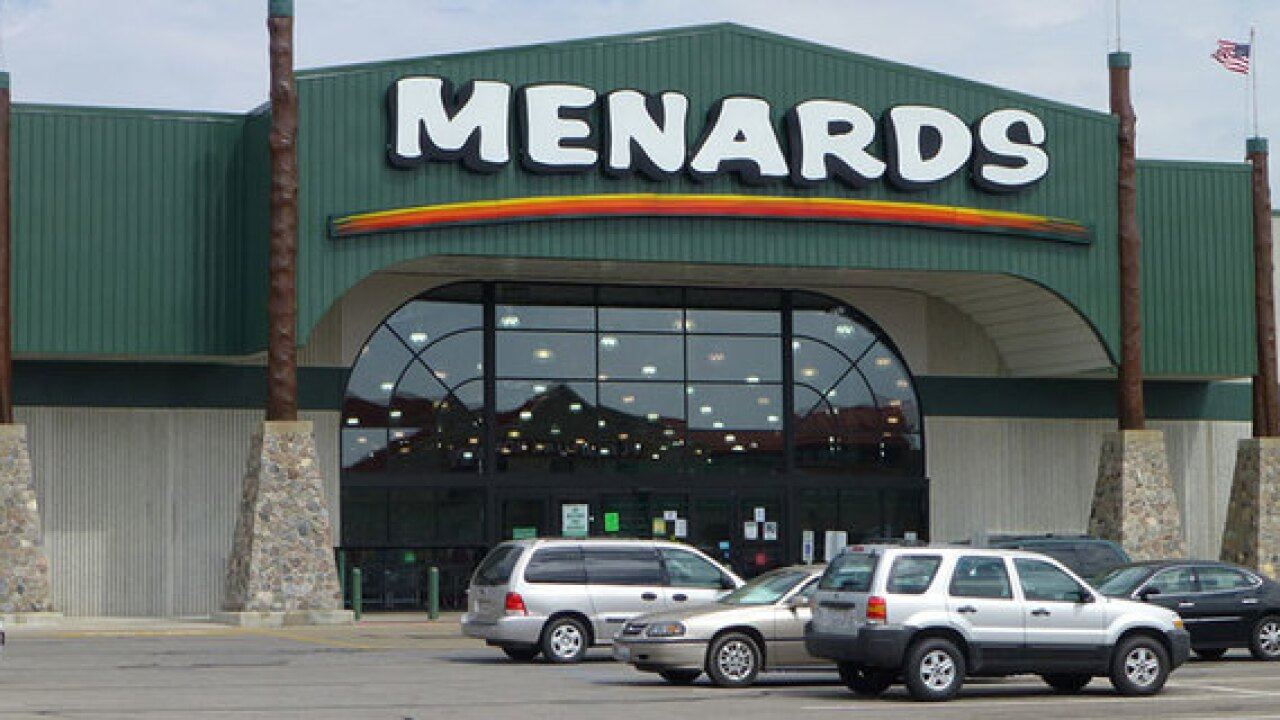 Menards closed Thanksgiving Day