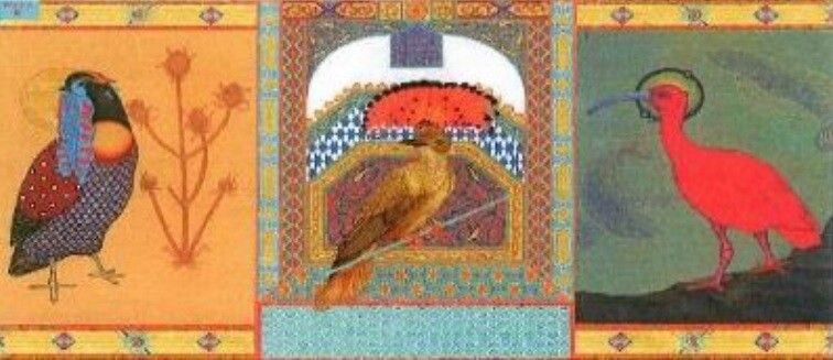 Whimsical Birds of Paradise by Daniel Ray Everett.jpg