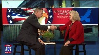 3 Questions With Bob Evans: Gayle Ruzicka, leader in the Utah EagleForum