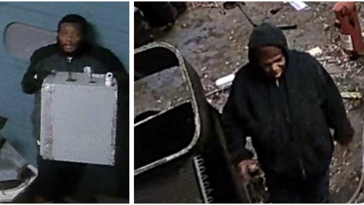 Richmond Police seek suspects wanted for stealing parts of HVAC units