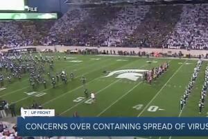 7 UpFront: East Lansing's mayor outlines COVID concerns as Big 10 football begins