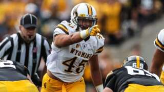 Wyoming Cowboys break fall camp