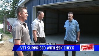 Problem Solved: Business donates $5K to veteran duped by no-show contractor
