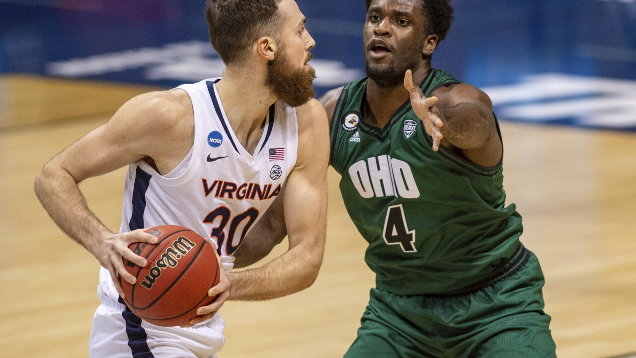 NCAA Virginia Ohio Basketball