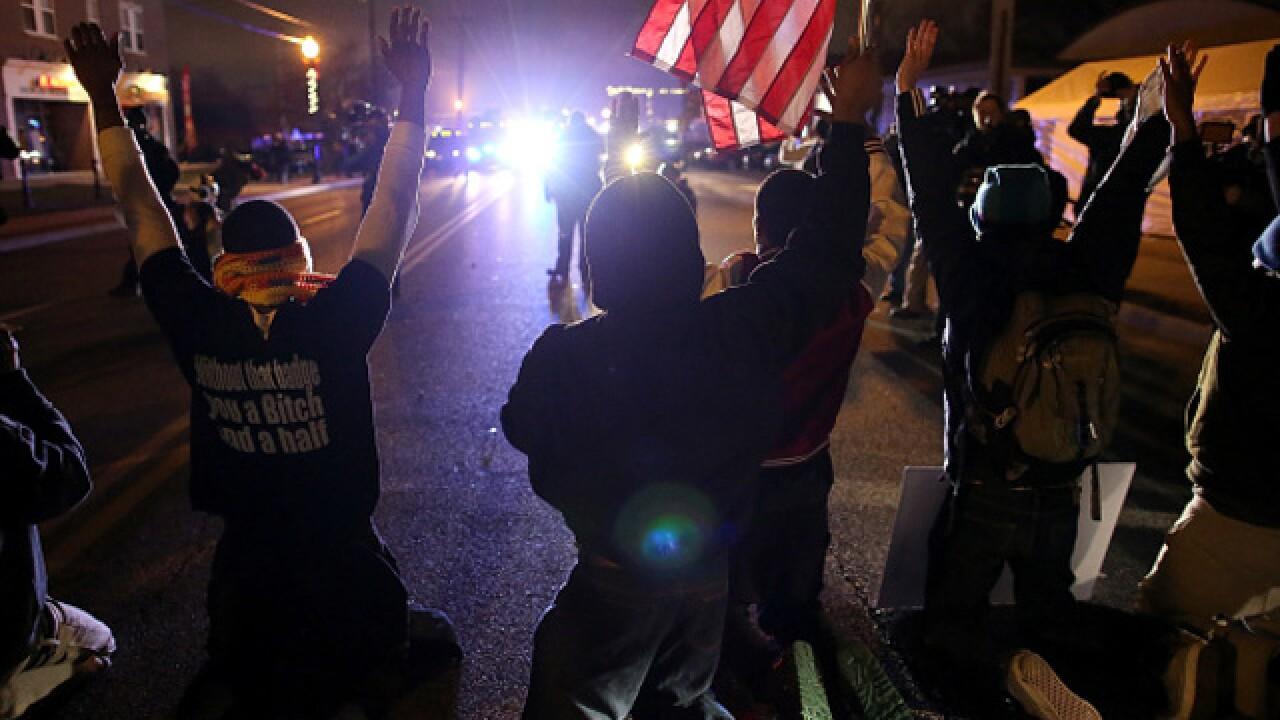 PHOTOS: Grand jury reaches decision in Ferguson