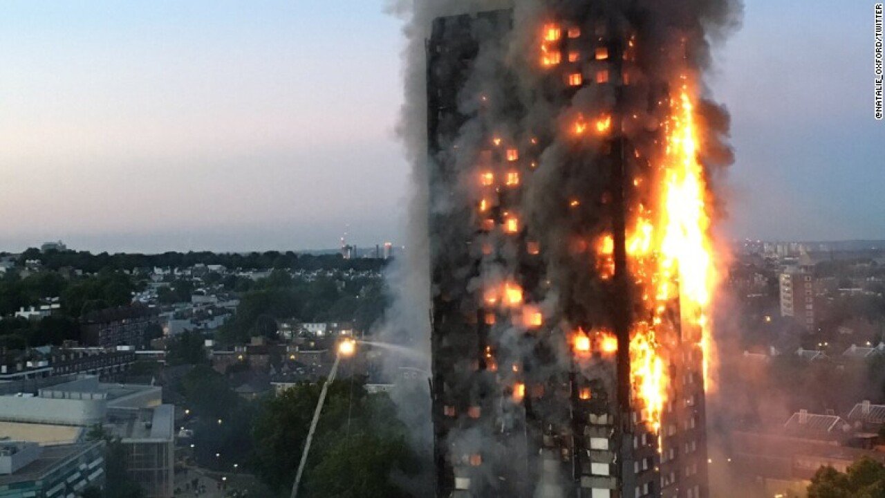 Death toll in West London fire reaches 30; some victims may never be identified, police say