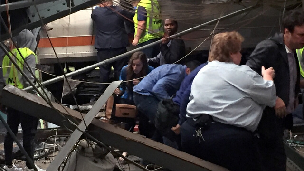 Major train accident reported in New Jersey