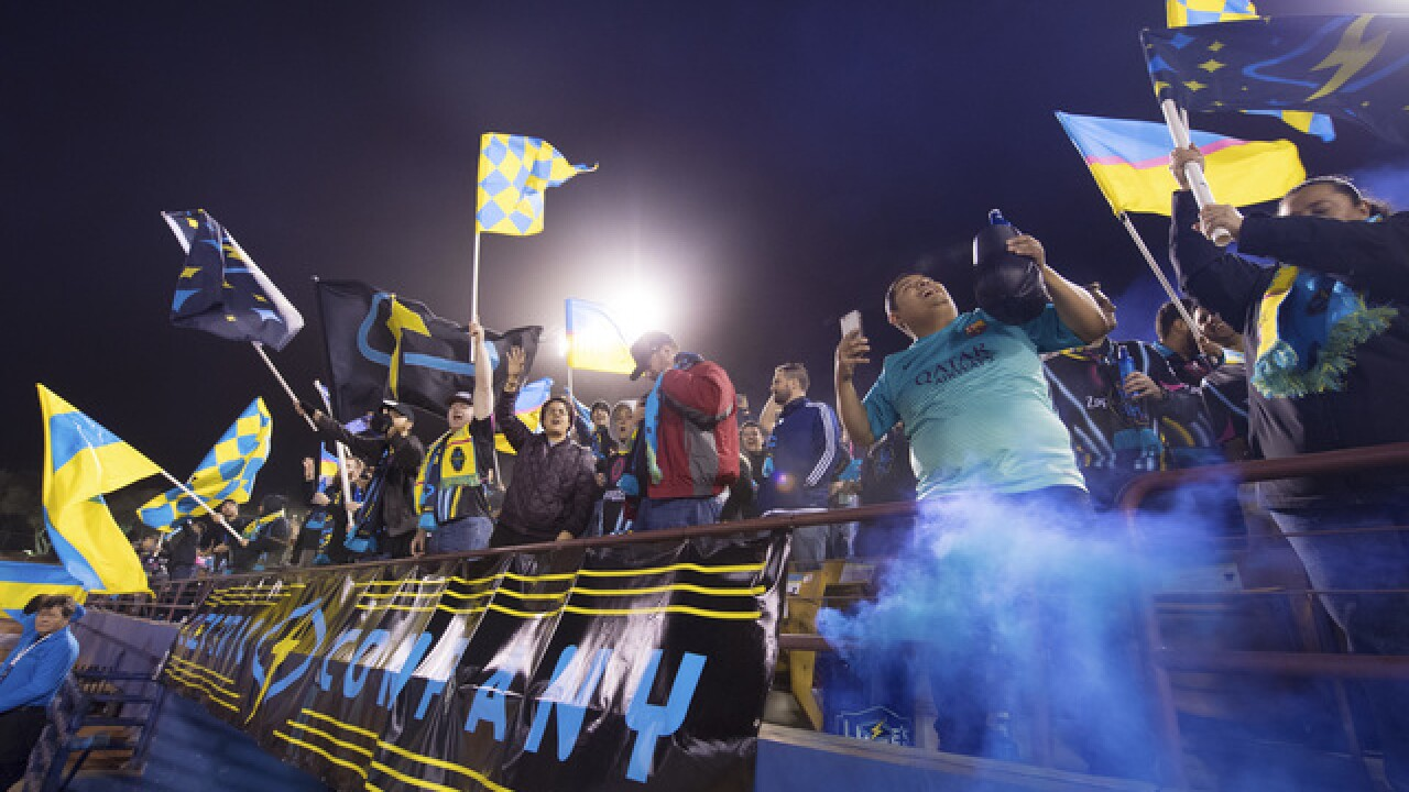 PHOTOS: Las Vegas Lights' inaugural match