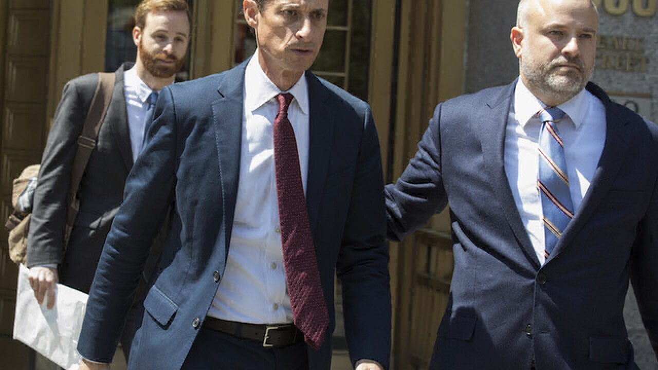 Ex-US Rep. Anthony Weiner pleads guilty in sexting case